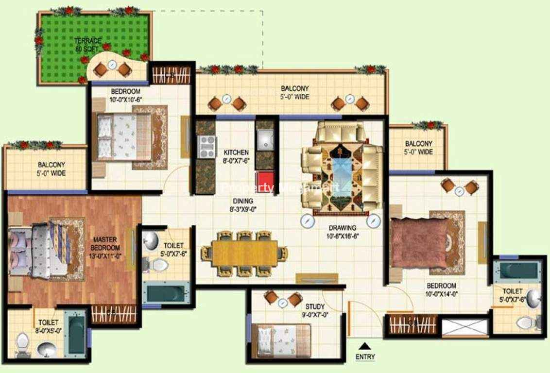 Amrapali Terrace Homes